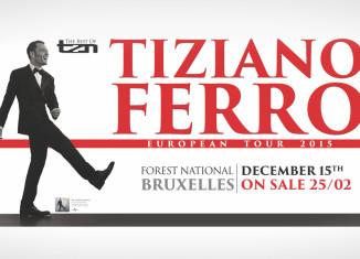 Concert Tiziano Ferro in Vorst Nationaal