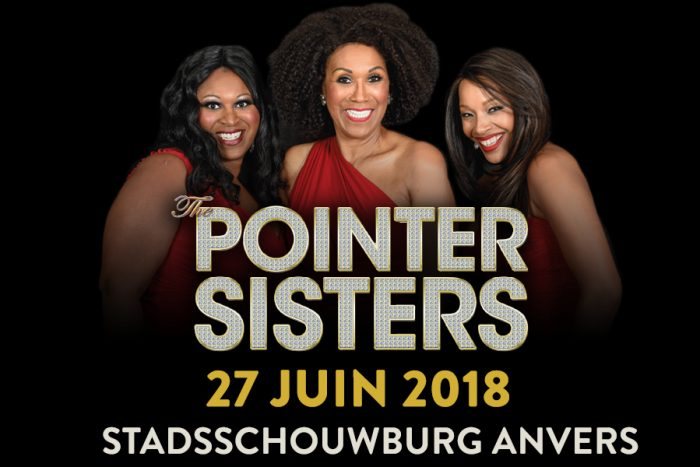 Live Concert The Pointer Sisters à Anvers 27/6